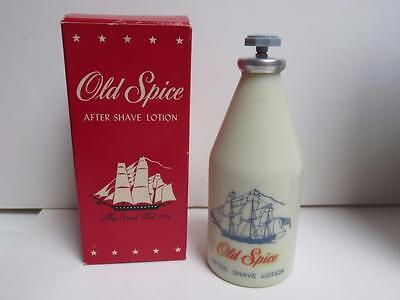original Shulton Old Spice after shave Lotion unused in box 2 3/8 oz bottle gran