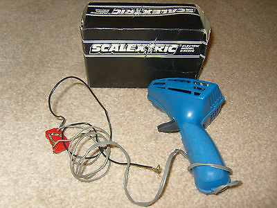 1960's  SCALEXTRIC C265 Boxed Hand Controller BLUE
