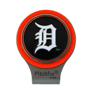 NEW Pitch Fix Detroit Tigers Hat Clip With Magnetic Golf Ball Marker