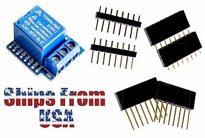 Relay Shield For Wemos D1 Mini IOT Blynk Board ESP8266 Arduino Node Mcu