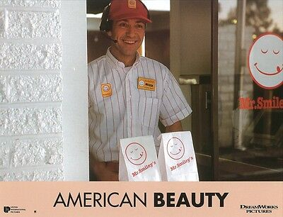 AMERICAN BEAUTY lobby card,  original french still #5 -  KEVIN SPACEY