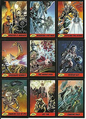 2012 Topps Mars Attacks Heritage - New Universe Set Of 15 - New Artwork