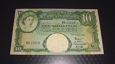 10 Shillings East African Currency Board 1958 - 1963 **** 22212