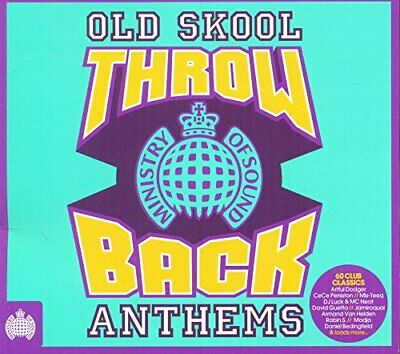 Various Artists - Throwback Old Skool Anthems - Various Artists CD 38VG The