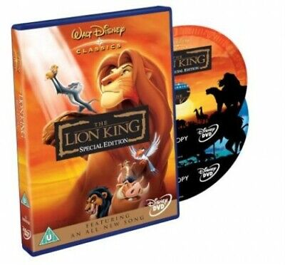 The Lion King [2 Disc Special Edition] [1994] [DVD] - DVD  LWVG The Cheap Fast