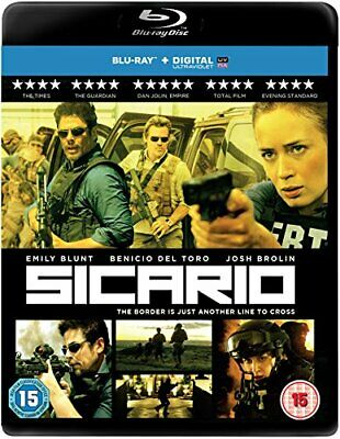 Sicario [Blu-ray] - DVD  08VG The Cheap Fast Free Post