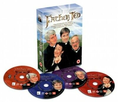 Father Ted : Complete Box Set [DVD] [1995] - DVD  FWVG The Cheap Fast Free Post