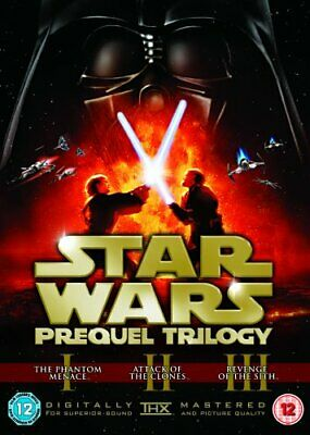 Star Wars Trilogy: Episodes I, II And III [DVD] [2017] - DVD  AIVG The Cheap