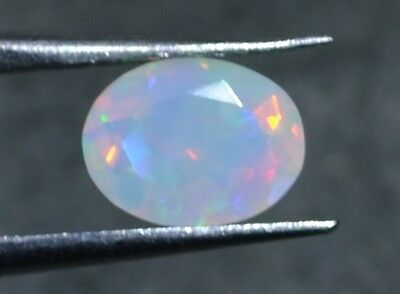 1.00 Cts  Natural Untreated Faceted Ethiopian Welo Fire Opal OF40