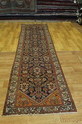 Oversized Antique Malayer Hamedan Runner Persian Oriental Area Rug Carpet 3X13