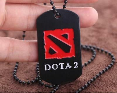 DotA Defense of the Ancients Alloy exquisite Identity cards necklace ☆