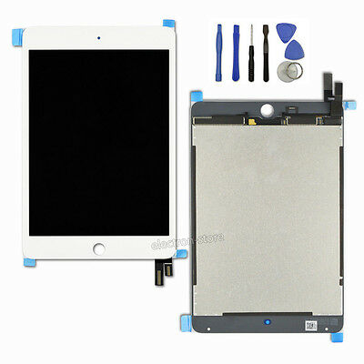 White LCD Display Touch Screen Lens Digitizer for IPAD MINI 4 Panel Replacement