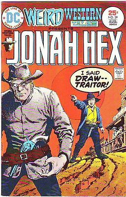 Weird Western Tales 29 strict NM- $20off Tons Of Jonah Hex just listed now