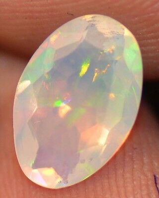 1.18 Cts  Natural Untreated Faceted Ethiopian Welo Fire Opal OF410