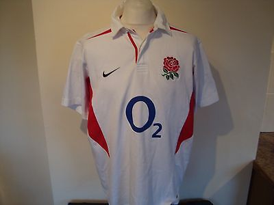 England Rugby Union Home Jersey Shirt XL Mens Nike