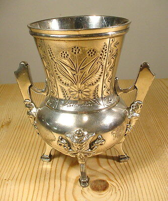 Taunton Silver Plate Co. American Gothic Vase 1850s