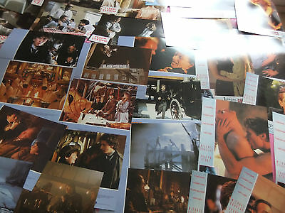 6 Lots Lobby Cards, + Press Book Etc. Jewel Of The Nile, Instinto Basico,