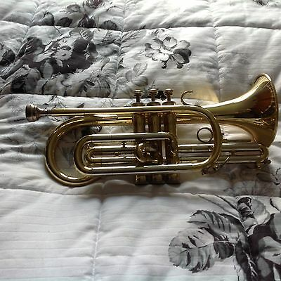A BLESSING120 Bb CORNET AND CASE