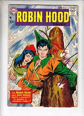 Robin Hood Tales 14 strict VG- 1958 Golden Age DC 1,000s more up at Kermitspad
