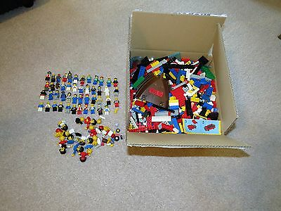 Huge Lego Mixed Joblot Over 4.5 Kg Lots Of Mini Figs Figures Some Old And Rare