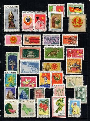 Vietnam Nice Selection Of 100+ Used Stamps In Good Condition