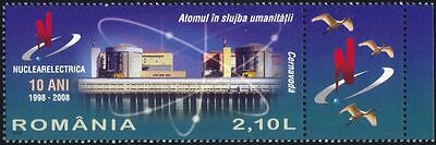 Romania 2008 Nuclear Energy/Power Station/Electricity/Atomic/Science 1v (n44685)