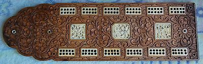 Antique Chinese Cribbage Board