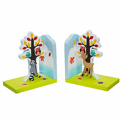 Fantasy Fields Enchanted Woodland Book Ends Set of 2