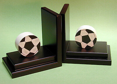 One World Soccer Book Ends Set of 2