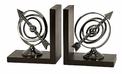 IMAX Calisto Armillary Book End Set of 2