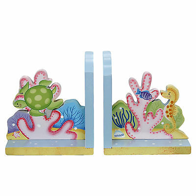 Fantasy Fields Under the Sea Book Ends Set of 2