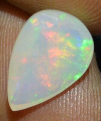 1.62 Cts  Natural Untreated Faceted Ethiopian Welo Fire Opal OF438