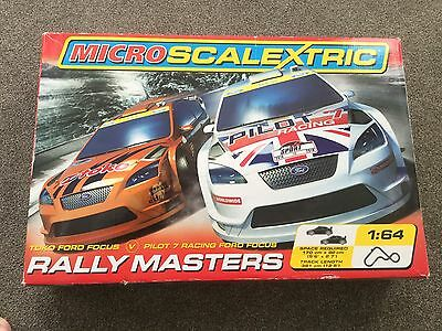 micro scalextric 2 Sets Included