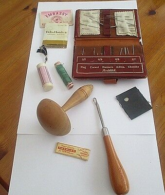 Good Collection / Job Lot Antique And Vintage Sewing Items.