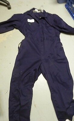 Indura Men's Work Wear Coverall Navy  Size Xxl