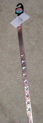 *new* With Tags Marks & Spencer Pink Daisy Flower Girls Belt Age 4-6 Years