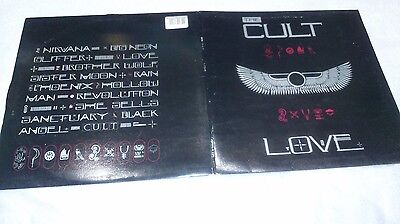 The Cult. Love LP. vg to ex  condition