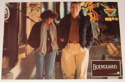 THE BODYGUARD lobby card - Whitney Houston, Kevin Costner #6