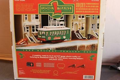 Lionel- 21924- 1999 Holiday Motorized Trolley Set- 027- New- B1