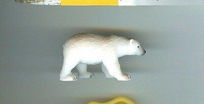 Yowie US Chocolate Egg Brand Collectible Mini Figure: POLAR BEAR