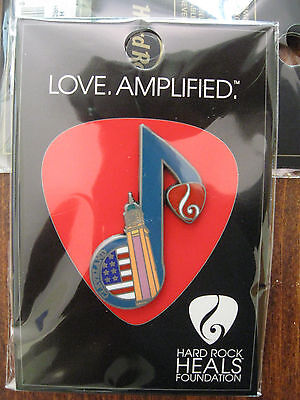 Cleveland Hard Rock Cafe pin - 2016 Music Note - Heals - HRC trader badge Closed