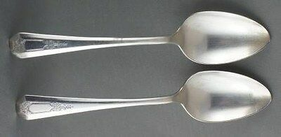 2 Wm Rogers & Sons La France Dinner Spoons TWO