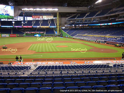2 Excellent Tickets Dominican Republic - Colombia World Baseball Classic 3/12/17