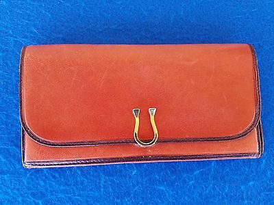Vintage Nieman Marcus Fioccho Lecco Italy Leather Wallet Clutch Purse L@@k