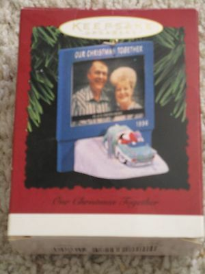 1996 Hallmark Ornament Our christmas Together Ornament Drive in Wizard of OZ