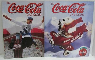 Coca-Cola Collectibles Catalogs from Coke Spring & Fall 1995