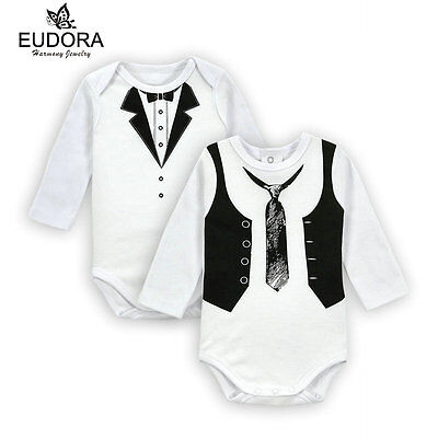Baby Body Siut Boy Long Sleeves Cotton Cloth Baby Toddler Bodysuit Outfits 0-12M