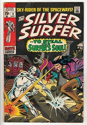 Silver Surfer 9 Strict 8.5 VF+ High-Grade Oct-69 Mephisto, the Flying Dutchman