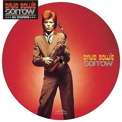 David Bowie Sorrow Limited Edition 40th Anniversary 7 Inch Picture Disc