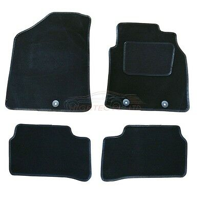 Hyundai i10 2014 onwards tailored 4pcs car floor mats non-slip carpet F5004